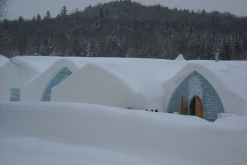 Quebec's Ice Hotel. Photo by Susan Lanier-Graham