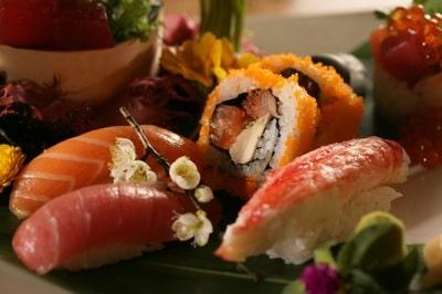 Sushi at Sushi Roku in Scottsdale Arizona