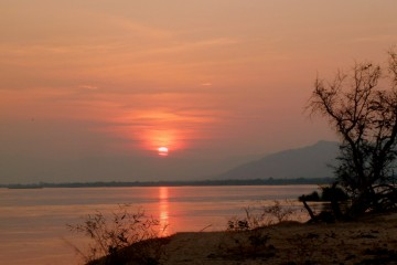 Sunset in Africa. Photo by Susan Lanier-Graham