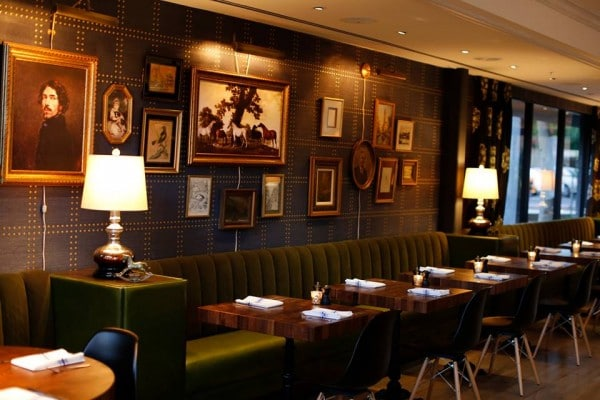 The Henry dining room has an eclectic living room feel. Photo credit ...