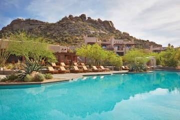 Pool at Four Seasons Scottsdale. Photo courtesy Four Seasons