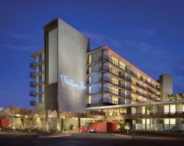 Porte Cochere at Hotel Valley Ho
