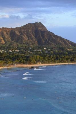The view of Diamond Head from my room at Sheraton Waikiki. Photo by Susan Lanier-Graham