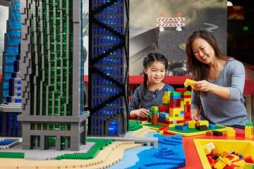 LEGO® Earthquake Table. Photo courtesy MERLIN ENTERTAINMENTS