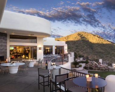 Flourish patio at CopperWynd. Photo courtesy CopperWynd Resort & Club in Fountain Hills