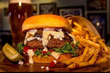 Burger Theory Farm Fresh Burger. Photo courtesy Burger Theory