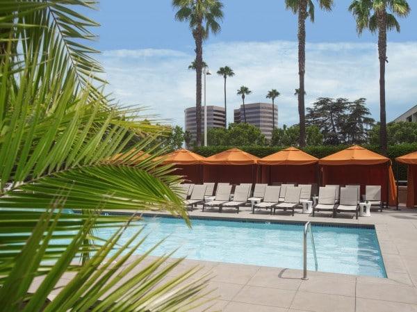 Pool at Hotel Irvine. Photo courtesy Hotel Irvine