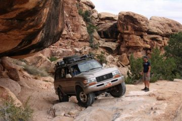 NAVTEC Expeditions exploring Canyonlands National Park in Utah