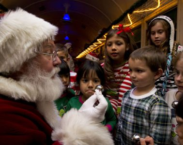 The Polar Express. Photo courtesy Xanterra Parks & Resorts / Grand Canyon Railway & Hotel