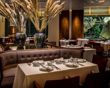 Summer Pavilion at The Ritz-Carlton, Millenia Singapore Awarded Its First Michelin Star. Photo courtesy Marriott International