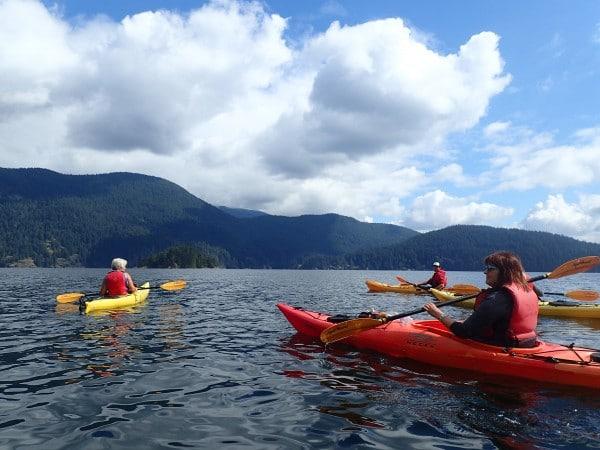 Deep Cove kayak North Vancouver