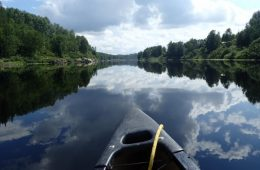 canoeing the Ouasiemsca River