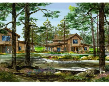 Artist rendering of Pine Canyon. Photo courtesy of Pine Canyon