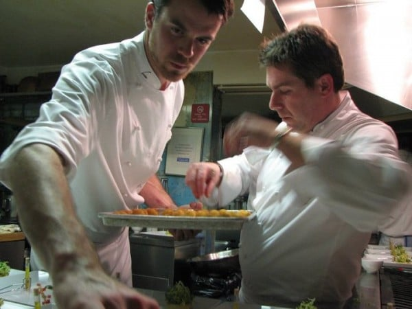 Chefs Chureau and Ragsdale
