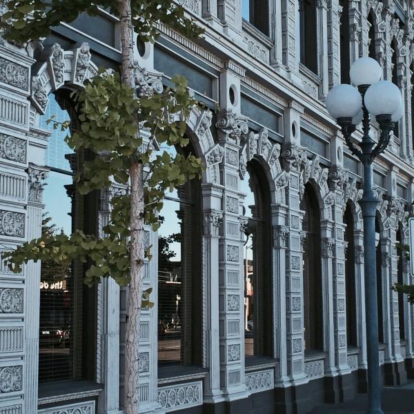 Cast Iron Facade Bank Building