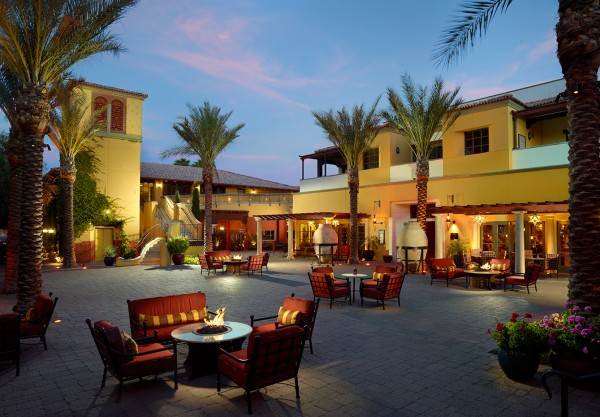 The Piaza at Omni Scottsdale Resort & Spa at Montelucia. Photo courtesy Omni Scottsdale Resort & Spa at Montelucia