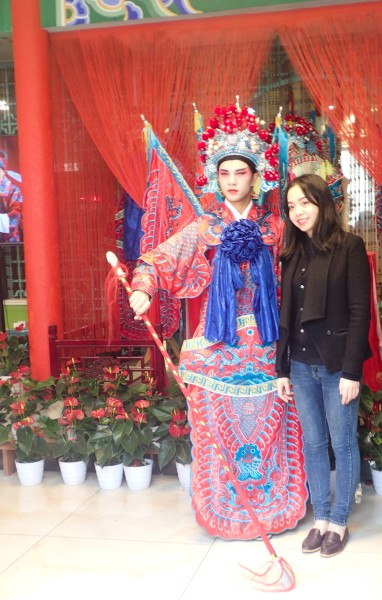 Chengdu opera character