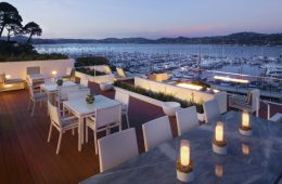 Bay view from Casa Madrona Hotel & Spa in Sausalito. Photo courtesy J Public Relations