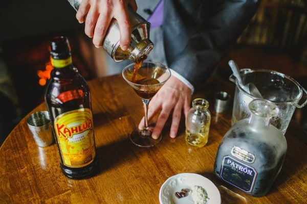 Crafting cocktails at Ireland's Blue Book Hotels (photo credit: Bushmills Inn)