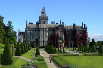 Adare Manor in Limerick, Ireland. Photo courtesy J public Relations.