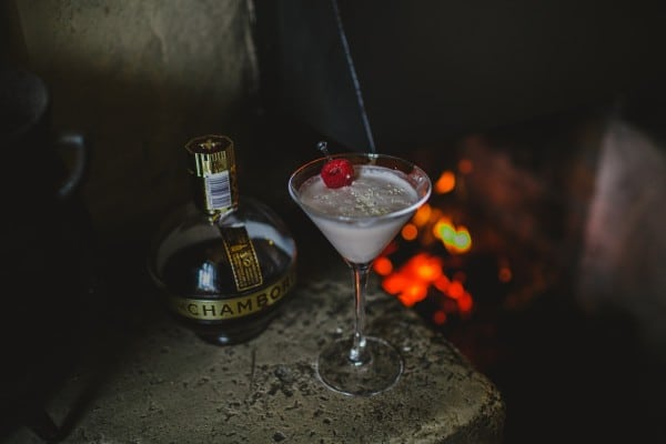 Festive White Chocolate Martinis are perfect for the Holiday Season! (photo credit: Bushmills Inn)