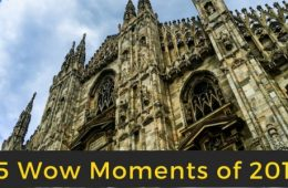 Top 25 Wow Moments of 2016 from Around the World and Across the Street with Wander With Wonder
