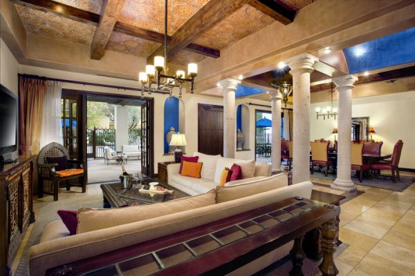 Andalusian Presidential Suite at Omni Scottsdale. Photo courtesy Omni Scottsdale Resort & Spa at Montelucia