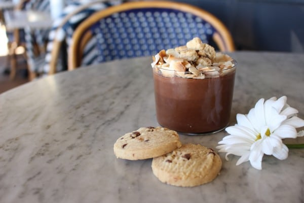 Toffee-tastic Chocolate Pudding at Flower Child