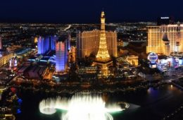 Las Vegas Strip Photo courtesy LVCVA