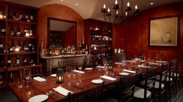 Ferdinand's Cellar. Photo courtesy Omni Scottsdale Resort & Spa at Montelucia