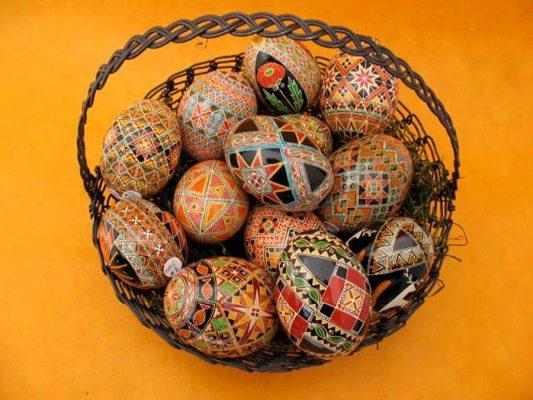 Pysansky Eggs