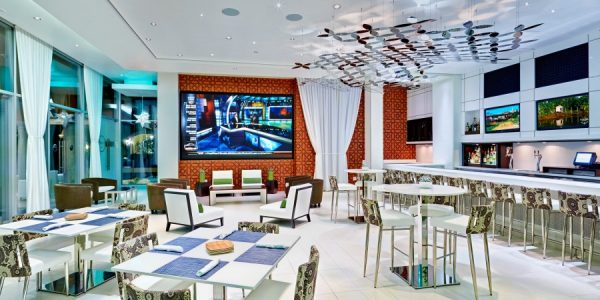 Spring Training Inside CENTRO Lounge at Montelucia. Photo courtesy Omni Scottsdale Resort & Spa at Montelucia.