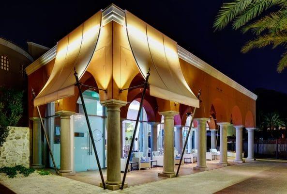 Spring training at CENTRO Lounge. Photo courtesy Omni Scottsdale Resort & Spa at Montelucia