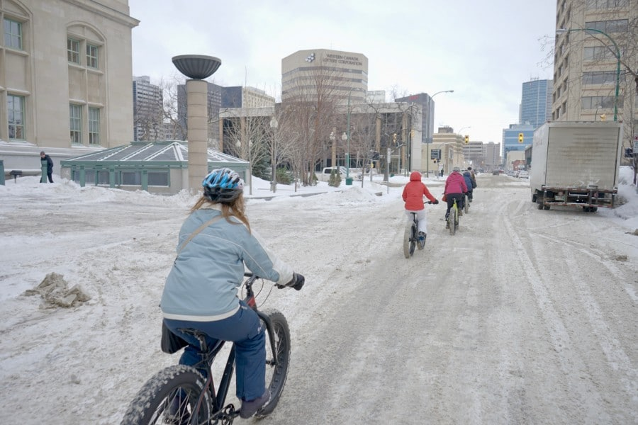 Winnipeg fat bikes