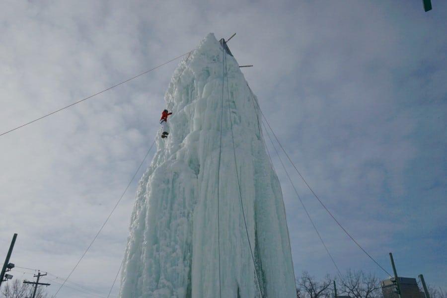 Winnipeg ice tower