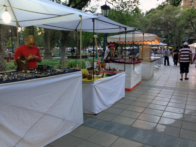 Independence Plaza, Mendoza, Argentina - Remembering Mendoza