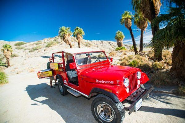 Palm Springs Jeep Trip. Photo courtesy Greater Palm Springs CVB