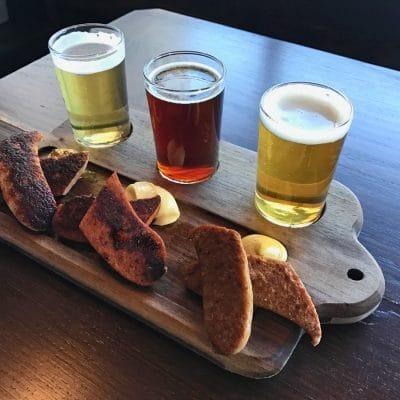 Wurst and Beer at Olympia Provisions
