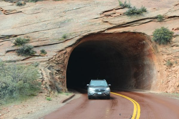 Zion Tunnel - Zion National Park