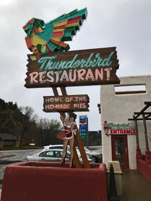 Thunderbird Restaurant - near Zion National Park