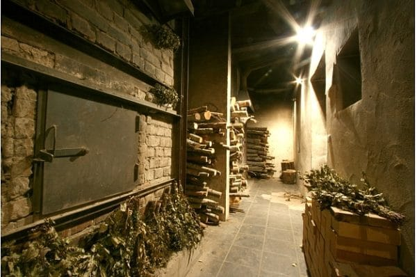 Latvia Sauna - Balta Pirts Wood Sauna Stoves. Photo by Ann Randall