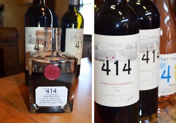 The Wines of Pedere 414 - Maremma