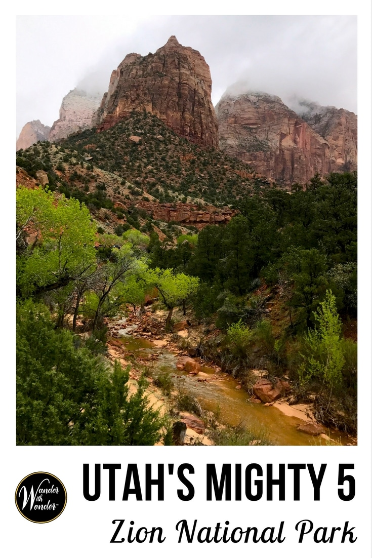 Zion National Park, one of Utah's Mighty Five, is among the most beautiful places in the United States. The canyons, cliffs and formations are awe-inspiring.