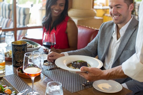 Enjoy five-star service at Prado. Photo courtesy Omni Scottsdale Resort & Spa at Montelucia