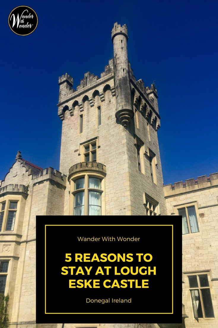 Lough Eske Castle, with an elegant staff and lively history, is located on a secluded lakeside estate just outside Donegal Town in County Donegal, Ireland.