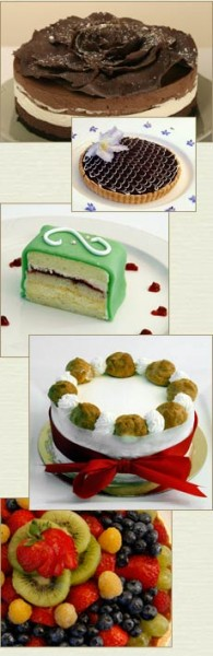 Costeaux French Bakery signature desserts