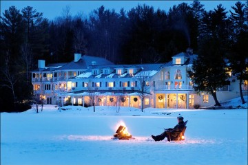 Winter at Auberge Ripplecove