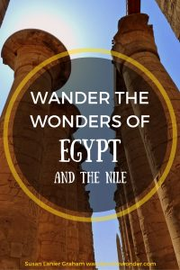 The Nile River is the life blood of Egypt, flowing north from Central Africa. It is a picturesque river and I enjoyed my journey from Aswan to Luxor, exploring the ancient temples and tombs along the way.