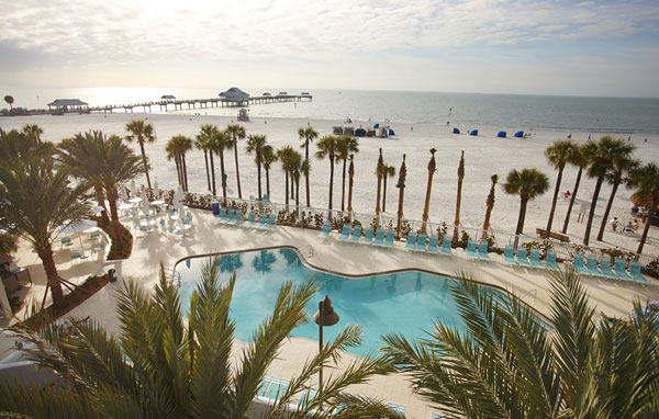 Hilton Clearwater Beach pool