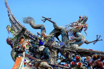 Lungshan Temple in Taipei, Taiwan